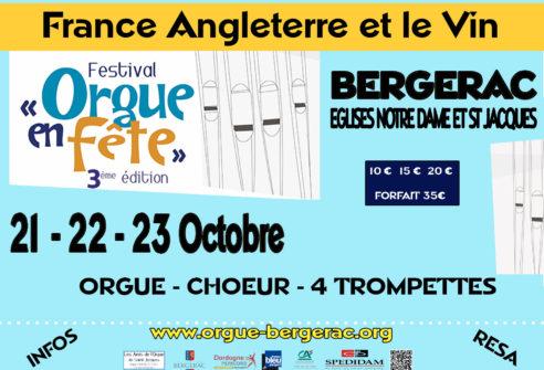 FESTIVAL « ORGUE EN FÊTE » 21, 22, 23 Octobre 2016