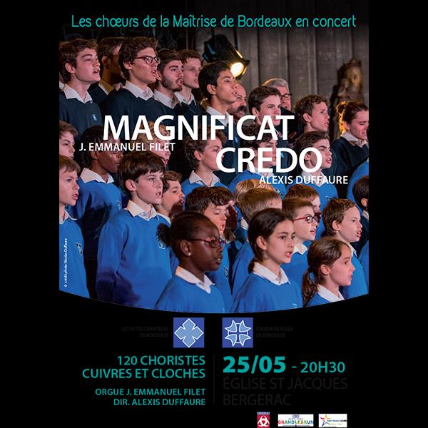 ConcertChoeursMaitriseBordeauxMAGNIFICAT-CREDO